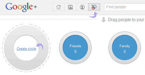 Add to Google+ circle