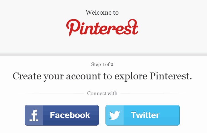 Pinterest Welcome Are you looking for a Pinterest invite?