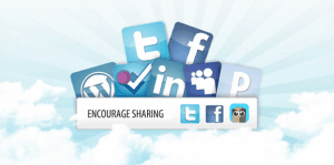 encourage sharing 300x149 Create a Flood of Traffic From Facebook Without Sitting at Your Computer All Day (Really!)