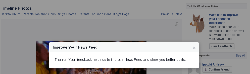 How to Give Your Feedback Directly To Facebook | Small