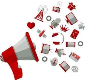 social media platform presence