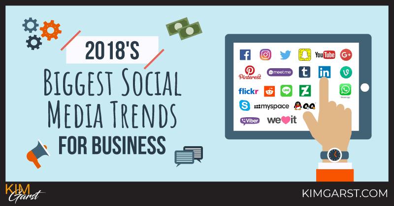 2018's Biggest Social Media Trends for Business
