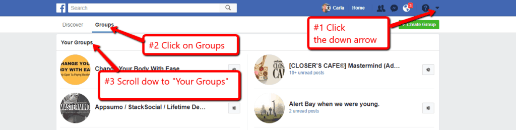 Support your Business with a Raving Facebook Group - Small