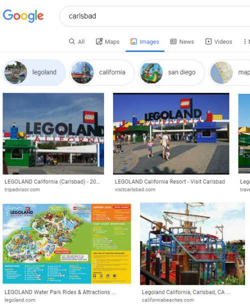 Carlsbad-Legoland-Attribute Entity