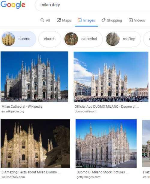 Milan Duomo Attribute Entity